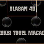 Prediksi Togel Macao 4D